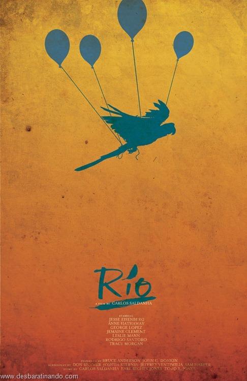 cartazes geeks nerds de filmes famosos  rio (6)