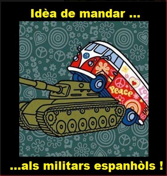 idèa pels militars espanhòls