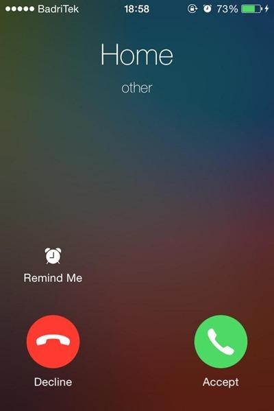 Cuo Cydia Tweak iOS 7 Call Screen Tweak (2)