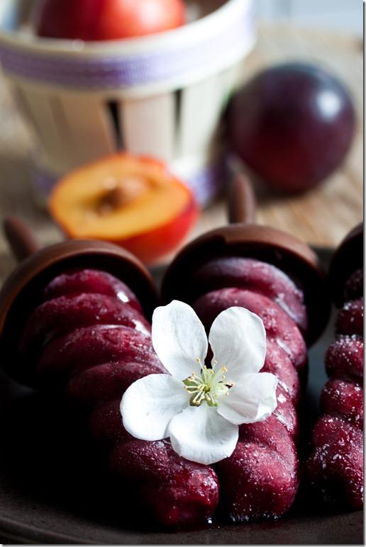 Red wine sorbet