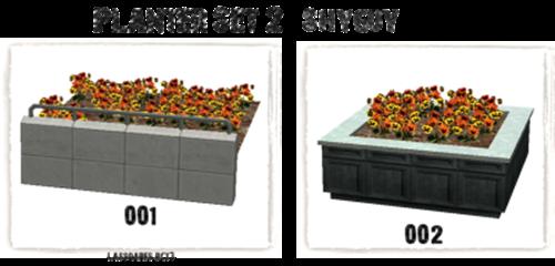Planter Set 2 I (shyguy) lassoares-rct3