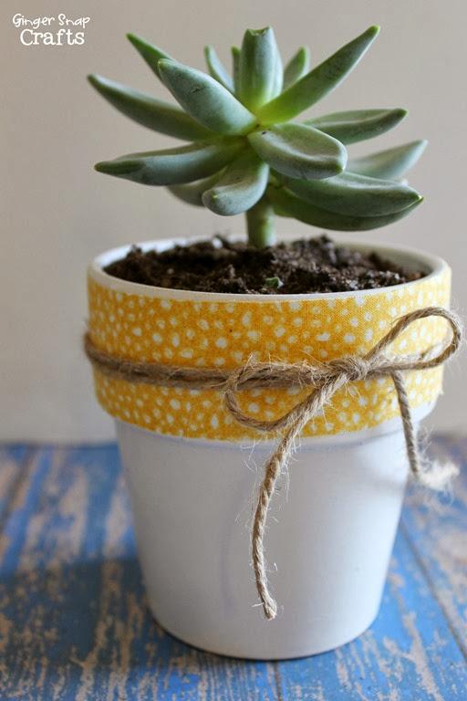#ducktape #flowerpot