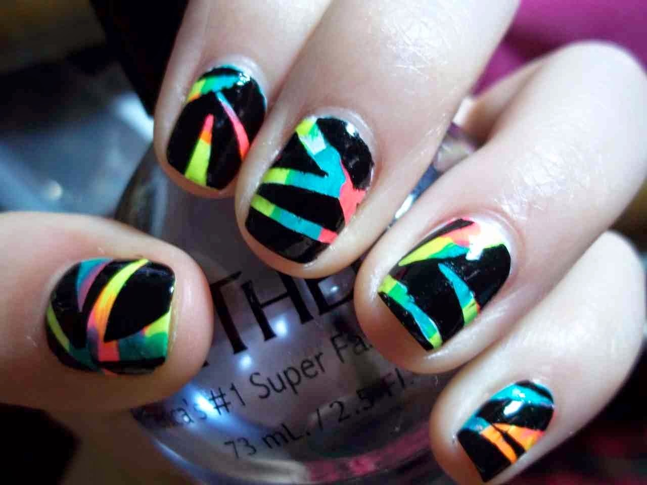 Easy Cute Nail Designs To Do At Home - At home nail art designs for beginners