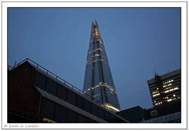 The Shard from the George