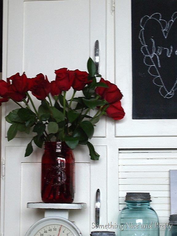 Valentine flowers & antlers 003