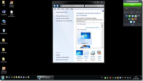 Icons Black on Desktop Black Desktop Background on