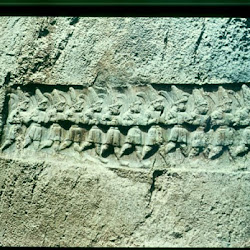 57 - Relieve de los Doce Dioses Yazilikaya