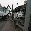 Merusid vedanud veok sõitis Põlva-karisilla maanteel kummuli 2011
