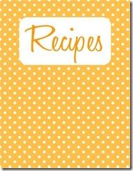 Recipe Binder Cover 2