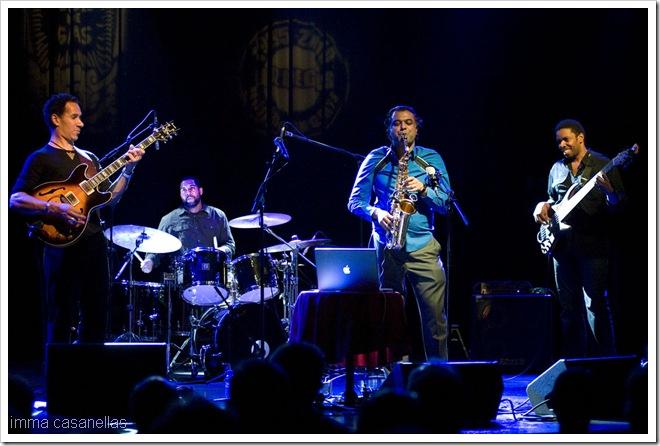 Gilmore, Reid, Mahanthappa i Brown - Barcelona, 2011