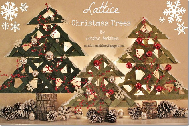 Creative Ambitions Blog Lattice Trees