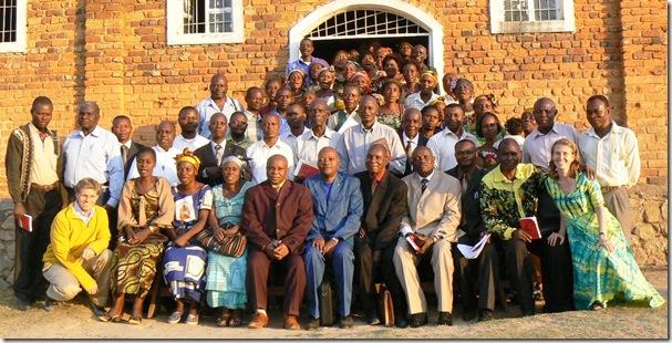 Seminar Delegates, Katanga Province