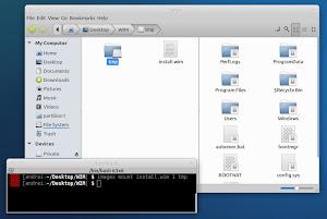 Wimlib su Xubuntu Linux