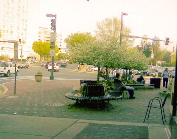 Bethesda - corner benches