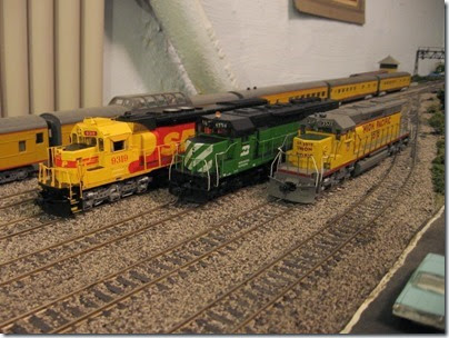IMG_0456 SP-BN-UP Lineup on My Layout on April 5, 2008