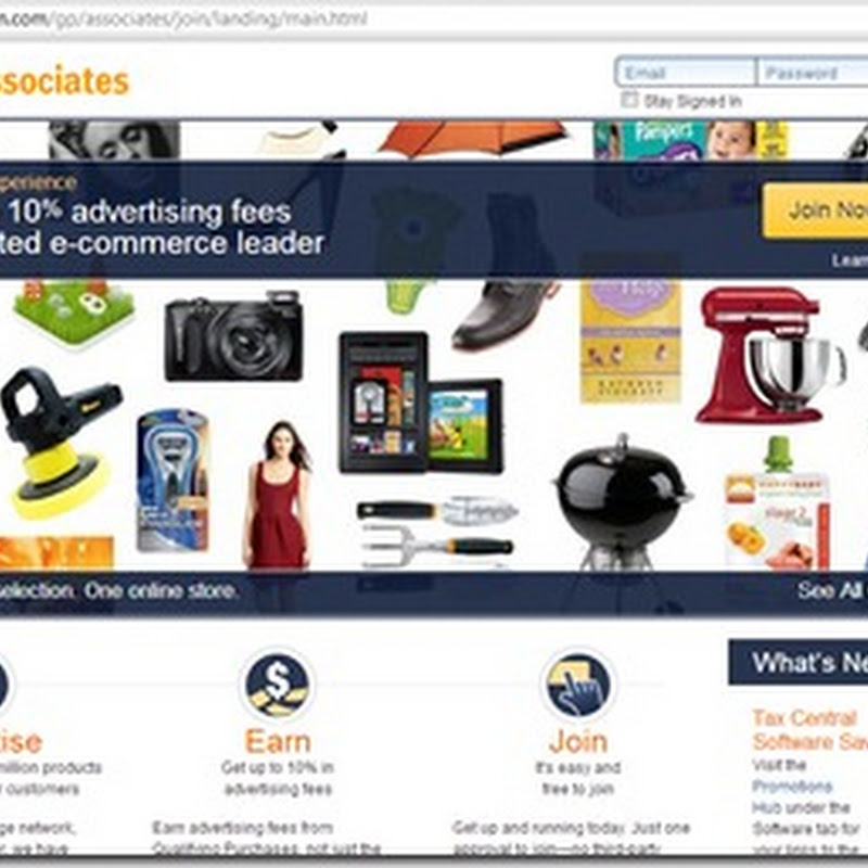 How to make money with amazon affiliate program without a website