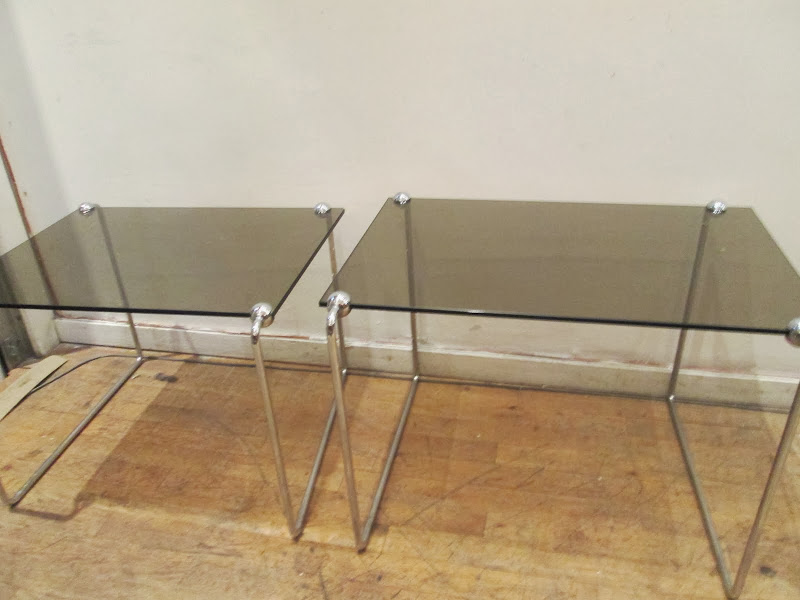 Modern Sidetable Pair