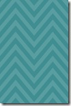 iPhone Wallpaper - Teal Blue Chevron - Sprik Space