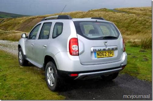 Dacia Duster GB 20