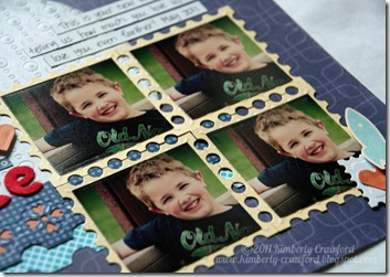 KC Blog Frenzy Project 2 LO CU postage stamps