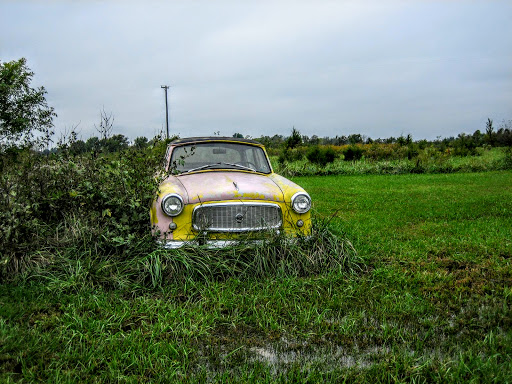 car, a poor old rusted