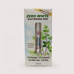 zero white teeth whitening pen