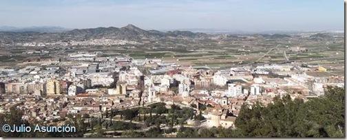 Panorámica desde el castillo de Xátiva - Valencia