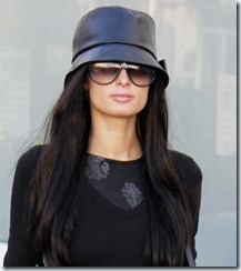Paris Hilton Goes Shopping As A Brunette (USA RIGHTS ONLY)