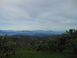 The many hills of West Java seen from the slopes of Ciremai above Apuy (Dan Quinn, April 2013)