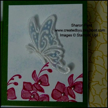 Thanks for Caring, Summer Mini, Catalog, sympathy, tutorial, split easel card, basic pearls, butterfly, super saturday, created by you, Sharon Field