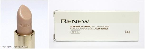 renew condicionador labial - avon