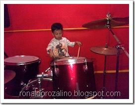 Violino Ridho Putra Kembali Berlatih Drum di JM 83 STUDIO (3)