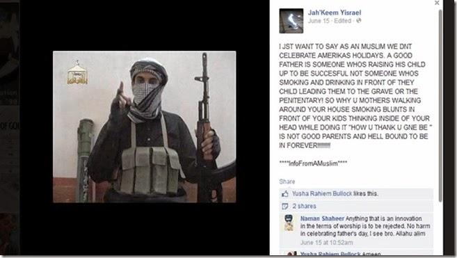 Jihad Warrior Jah'Keem Ysrael