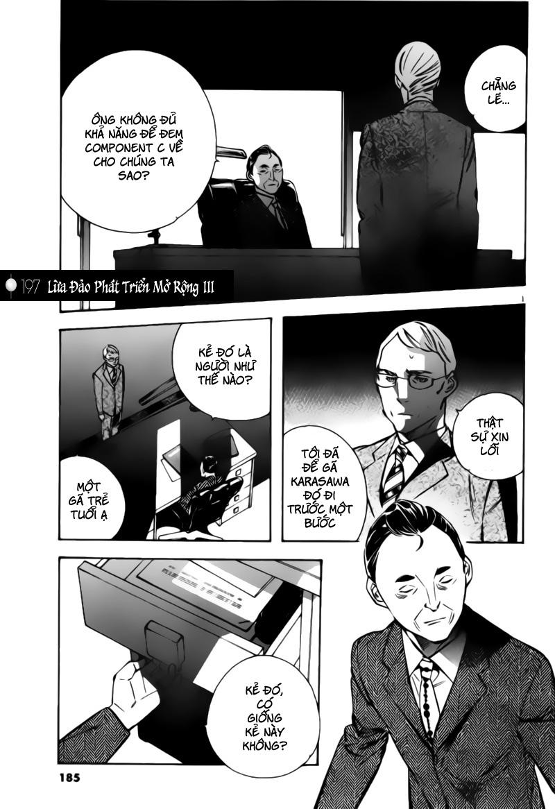 Shin Kurosagi - Con Diệc Đen 2 chap 197 - Trang 1