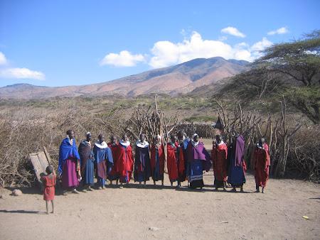 African Safari: Masai