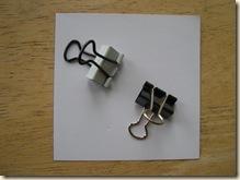 parchment clips