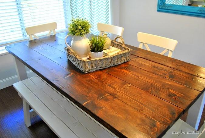 Modern Farmhouse kitchen // www.maybematilda.com
