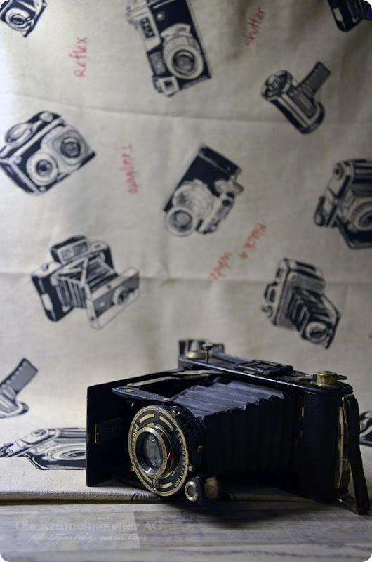 Kameraleinen von Frau Socke