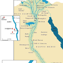 02 - Mapa del Antiguo Egipto 2
