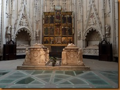 Toledo, cathedral, royal tombs N