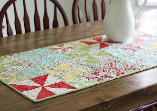 Pinwheels Table Runner