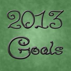 2013 Goals by TreegoldandBeegold.com