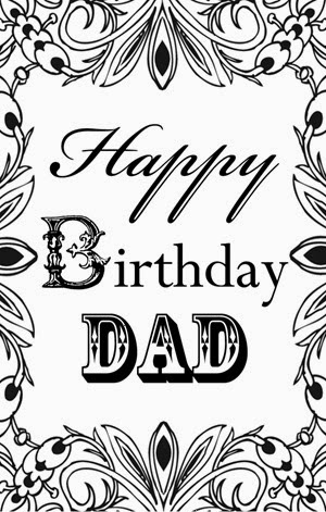 Happy Birthday Dad Rectangle