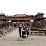Den gamle kongeby, citadellet i Hue.