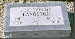 Tumba de Langston