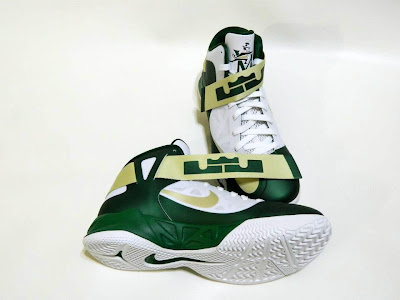 nike zoom soldier 6 pe svsm home 4 03 Detailed Look at Nike Zoom Soldier VI SVSM Fighting Irish PEs