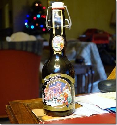 Bon Secours - Biere Vivante, Blonde de Noël