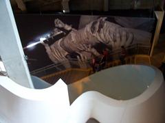Stairway w/ Cobain's leg mural