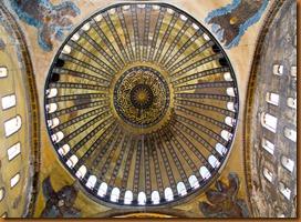 Istanbul, agia sophia dome