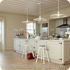 Освещение в декоре кухни